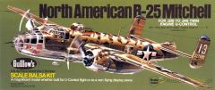 Guillow's North American Aviation B-25 Mitchell Balsa Wood Model Airplane Kit GUI-805