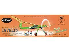 Guillow's Javelin Balsa Wood Flying Model Airplane Kit GUI-603