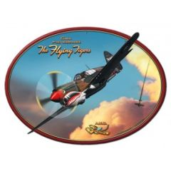 Flying Tigers Curtiss P-40 Warhawk Metal Sign SIG-0199
