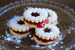 Linzer Cookies - Strawberry
