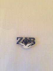 Zeta Phi Beta Lapel Pin with dove
