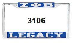Legacy License Frame