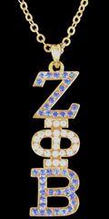 Gold Rhinestone pendant