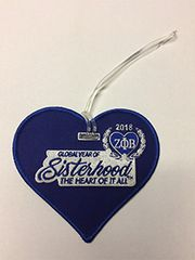 Year of Sisterhood luggage tag