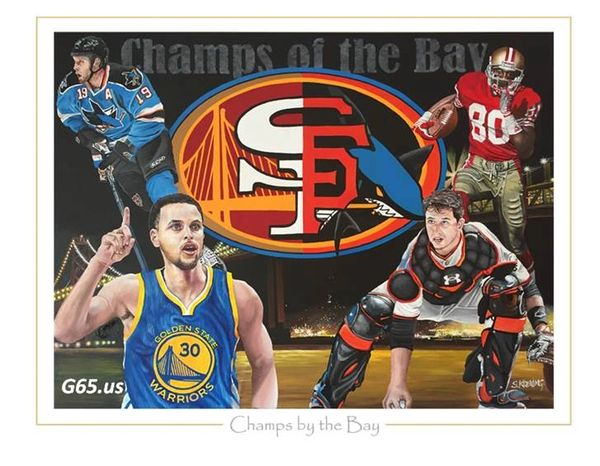 """Champs by the Bay """"Private Commission"""""""