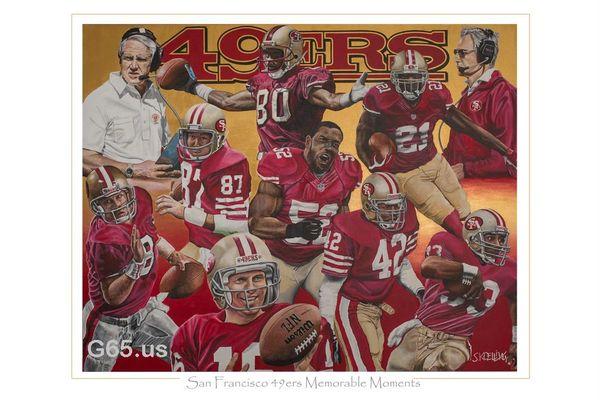 "San Francisco 49ers ""Memorable Moments"""