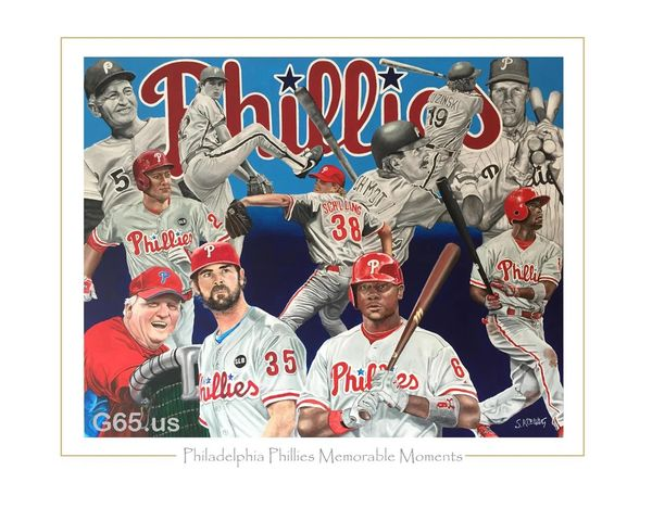 "Philadelphia Phillies ""Memorable Moments"""