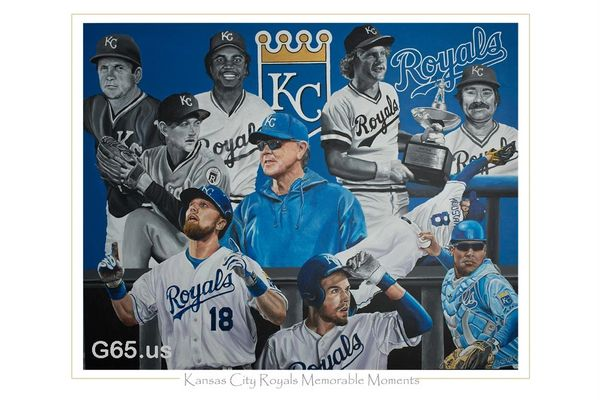 """Kansas City Royals """"Memorable Moments"""""""