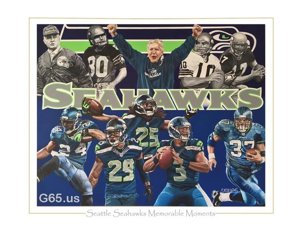"Seattle Seahawks ""Memorable Moments"""