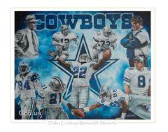 """Dallas Cowboys """"Memorable Moments"""""""
