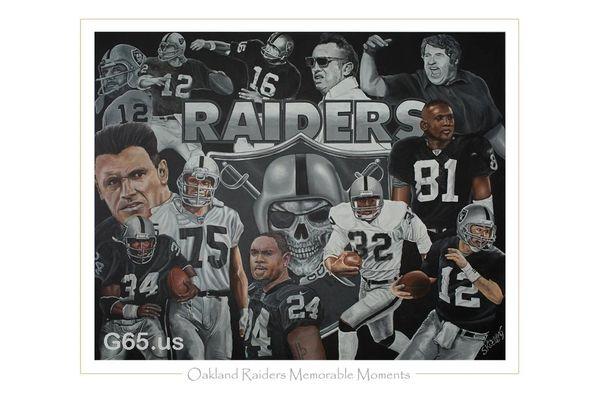 "Oakland Raiders ""Memorable Moments"""
