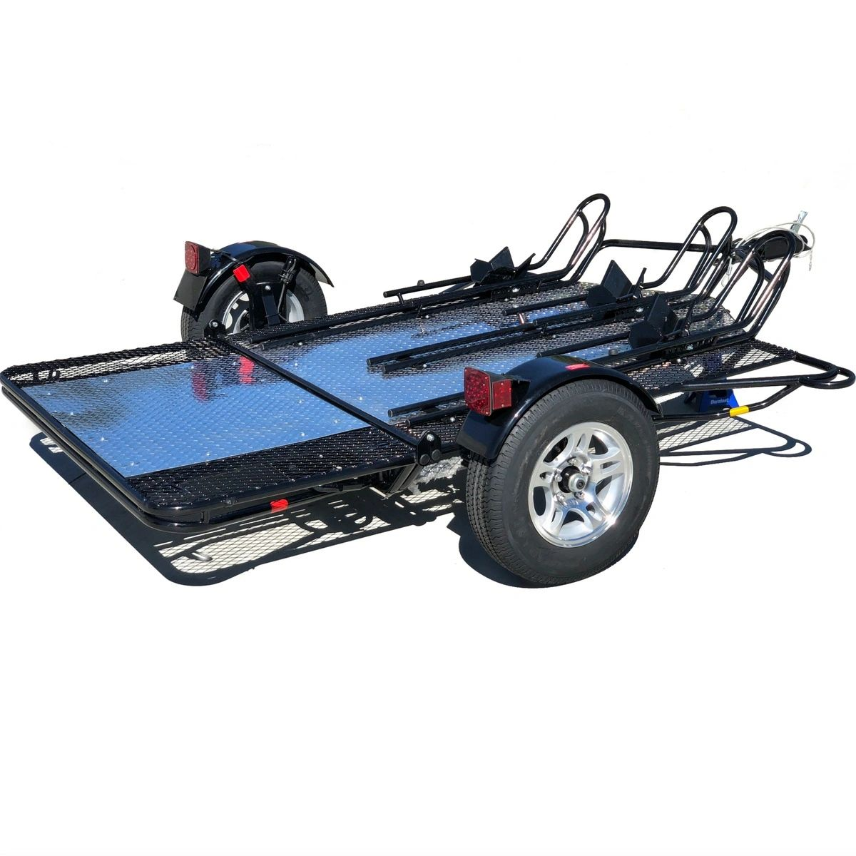 3 Rail Motorcycle Trailer Tow Smart Trailers Car Tow Dolly