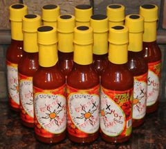 "Apple Cinnamon Chipotle Xtra Hot case (12 - 5oz bottles) ""Free Shipping"""
