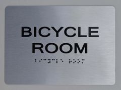 BICYCLE ROOM ADA SIGN - The sensation line