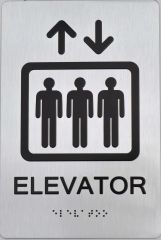 Elevator ADA SIGN - The sensation line