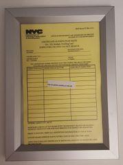 HPD FRAME - NYC (HEAVY DUTY FRAME 6X9)