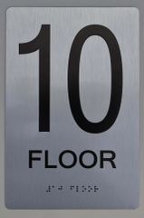 10th FLOOR ADA SIGN - The sensation line