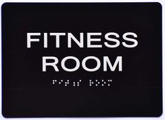 FITNESS ROOM Sign