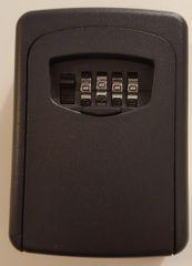 Key Access Lock Box - Wall Mounted Lock Box (Heavy Duty 4-Digit Combination Lock Box)