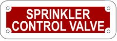 SPRINKLER CONTROL VALVE SIGN- REFLECTIVE !!! (ALUMINUM 2X6)