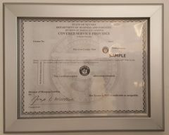 Business license frame NV 8.5x11 ( Heavy Duty )