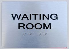 WAITING ROOM Sign ADA Sign - The sensation line