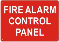 FIRE ALARM CONTROL PANEL SIGN- REFLECTIVE !!! (ALUMINUM SIGNS 7X10)