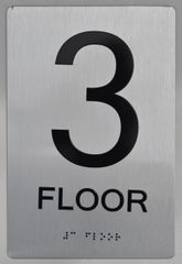 3rd FLOOR ADA SIGN - The sensation line