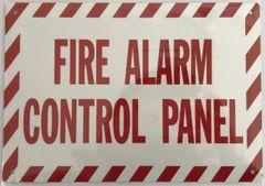 FIRE ALARM CONTROL PANEL SIGN (ALUMINUM SIGNS 7X10)