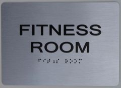 FITNESS ROOM Sign ADA Sign - The sensation line