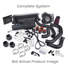 VORTECH 2008 4.6 Mustang Bullitt V-Power System w/V-3 Si-Trim & Charge Cooler, Satin 4FU218-050L