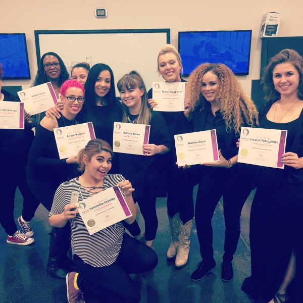 Instructors certification EyeLash and Hair Express Extension Kits