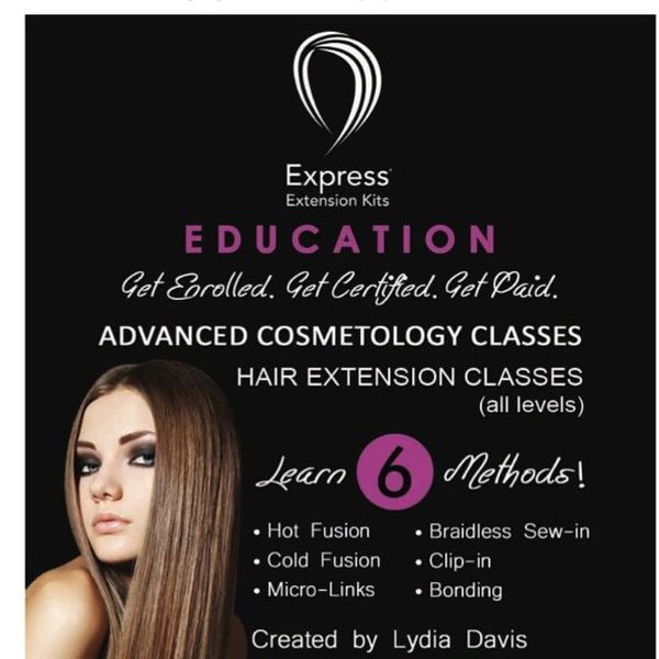Hair Extension Certification Class Express Extension Kits