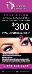 Express Eyelash Extension Kit Class Appointment Only