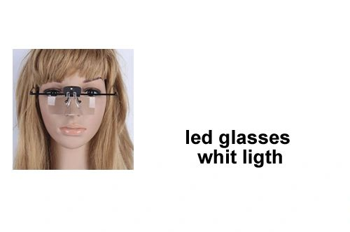 LED Light Magnifying Glasses