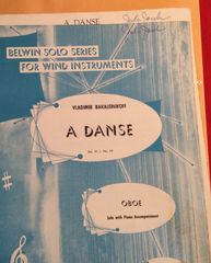 Music - Vladamir Bakaleinikoff - A Danse