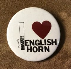 GIFT - English horn button