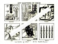 Print - The Art Masters of Oboe - copyright