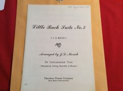 Music - Bach - Little Suite No 2