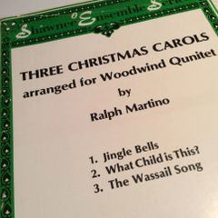Music - Martino - 3 Christmas Carols for WWQ