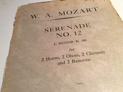 Music - Mozart - Serenade No 12 for winds