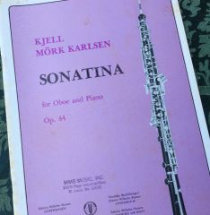Music - Karlsen - Sonatina for oboe and piano
