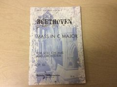 Music - Beethoven - Mass in C Major