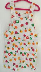 Flowery Pinafore