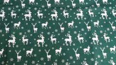 Green with White Reindeer - Out of Stock