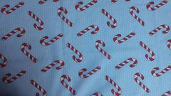 Blue with Candy Canes - Out of Stock