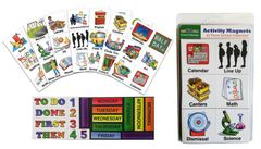 SchKIDules-SCHOOL COLLECTION COMBO: 61 Activity Magnets