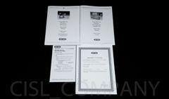 Bio-Rad Trans-Blot SD Instruction Manuals Set & Certificate
