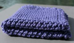 Lilac Cotton Dishcloth