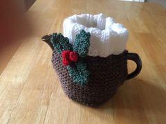 Christmas Pudding 2 Cup Tea Cosy